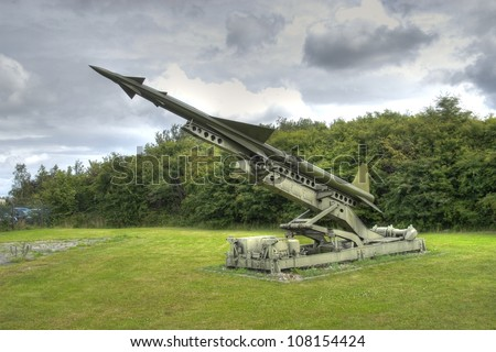 Nike ajax surface to air missile