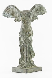 Nike (Victory) of Samothrace, Copy of the worldwide famous statue. The original is kept in Louvre museum , in France