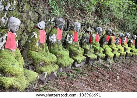 Jizo Statues Nikko Nikko Japan Jizo Statues at