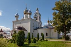 Nikolskaya Church in the Lifegiving Monastery of the Cross.