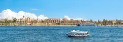 Nile River off the coast of Luxor