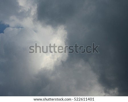 nimbus clouds or rain clouds background ez canvas