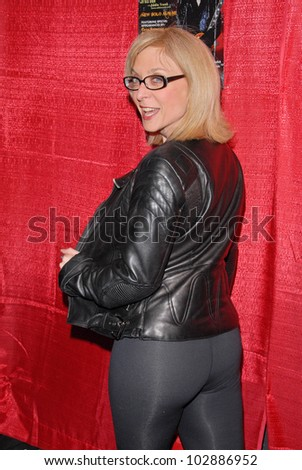 Nina Hartley  at the Celebrity Karaoke and US Troop Care Package Party, Locals Sports Bar & Grill, Los Angeles, CA. 04-06-10