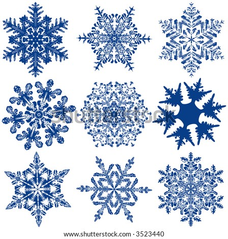 ... Fabulous Original Snowflakes, LET IT SNOW, LET IT SNOW, LET IT SNOW