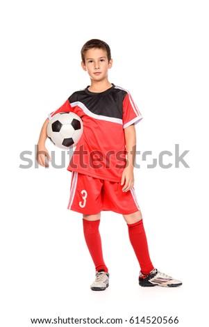 nine year old boy football...