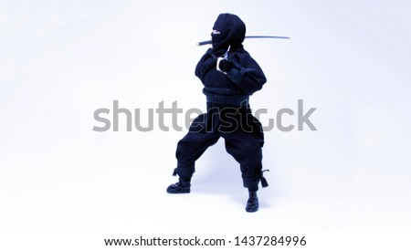 Ninjas with swords Images and Stock Photos - Page: 2