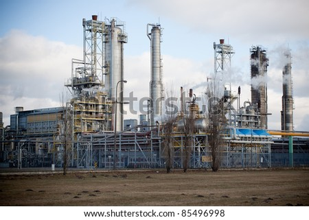 Nitrogen chemical plant in Wloclawek, Poland