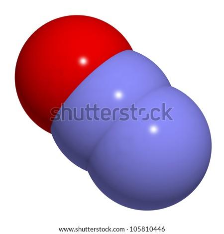 Nitrous oxide  N2O  laughing  N2o Molecule