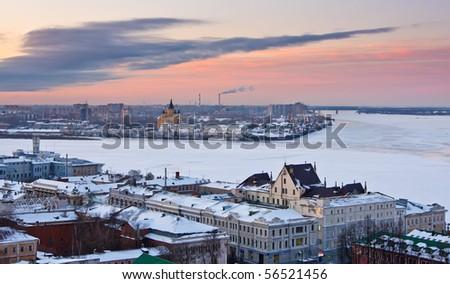 Nizhny Novgorod at winter
