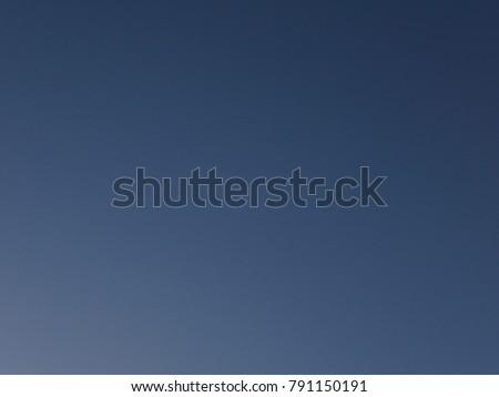 No Cloud Dark Blue, Navy Blue, Sky Background #791150191