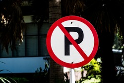 No parking.  No parking sign