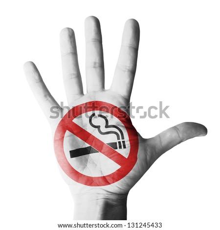 No smoking - isolated on white background