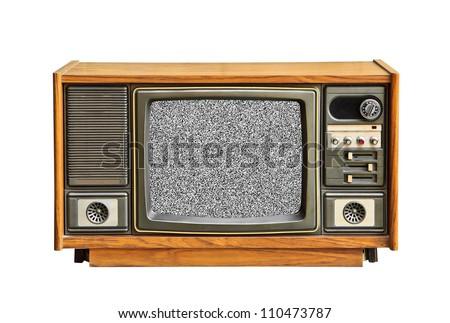 No television signal.