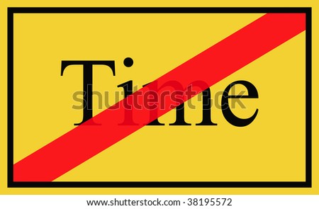 No time - signpost