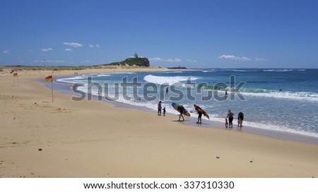 Nobby's Beach, Newcastle, NSW Australia