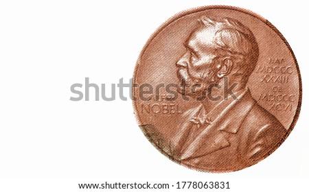 Nobel prize, Maria Salomea Sklodowska-Curie Portrait from Poland Banknotes.  Photo stock ©