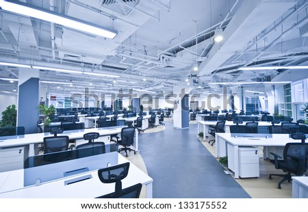 Nobody office work place