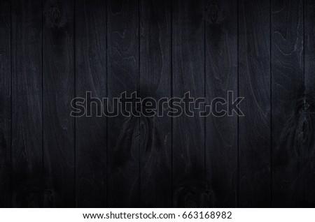 Noir elegance black wooden board background. Wood texture. #663168982