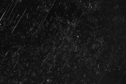 noise black background overlay / abstract film noise, black texture, white scratches