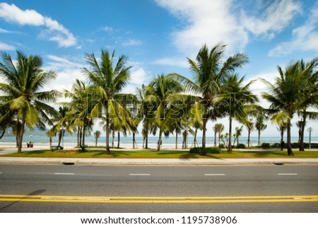 Non Nuoc Beachfront in Danang, HaiChau district in Vietnam