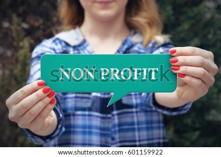 Non Profit, Business Concept
