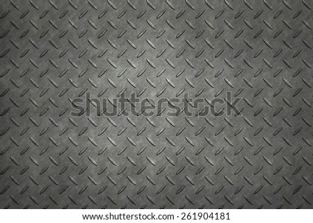 Non-slip metal floor sheet