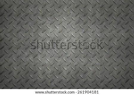 Non-slip metal floor sheet