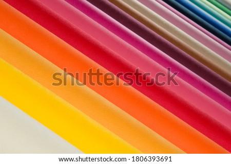 Non woven fabric rolls background Stockfoto ©