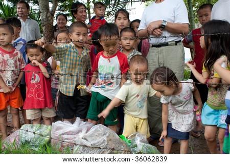 Nong Khai, Thailand - August 14: 158 Hmong Refugees From ...   Nong Khai Thailand Refugee Camp