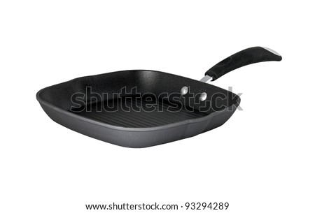 nonstick grill, isolated on white background
