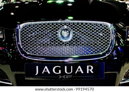 Jaguar xf Car Pictures The Jaguar xf Car Black