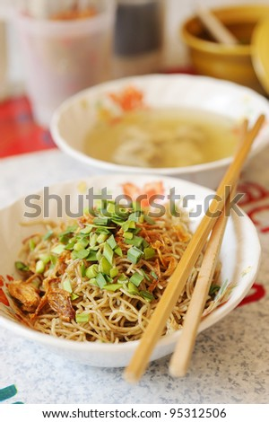 noodle of phuket and soup
