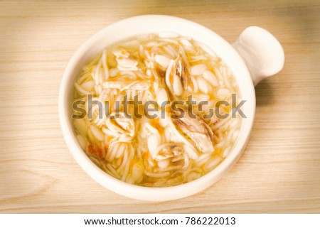 noodle soup with chicken #786222013