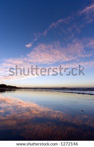 Noosa beach sunset - Australia