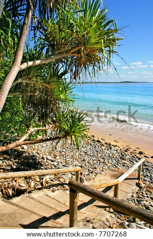 Noosaville, Sunshine Coast, Australia - stock photo