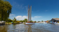 Norfolk Broads Boat