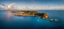 Norman Island in the British Virgin Islands