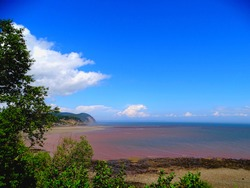 North America, Canada, Province of New Brunswick, Fundy National Park, Bay of Fundy
