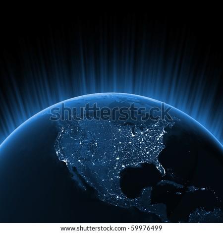 North America concept