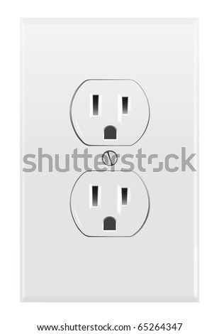 North American electrical outlet