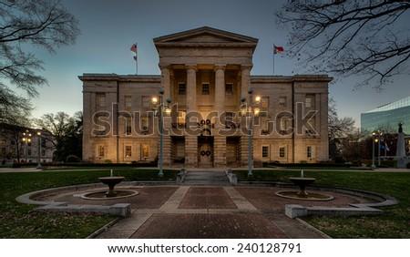 North Carolina State Capitol Building Address