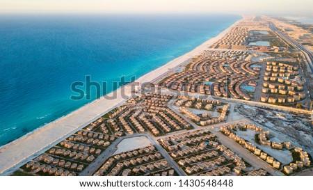 North Coast - Alexandria - egypt from the sky #1430548448