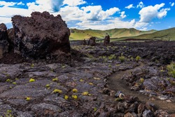 North Crater Flows, Craters of the Moon National Monument Idaho
