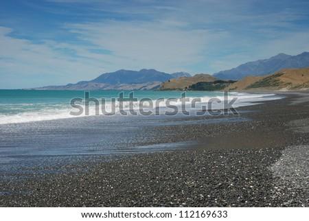 North East Coast, South Island, New Zealand - stock photo