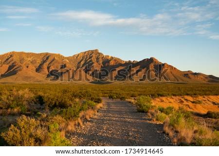 North Franklin Mountain in El Paso Foto stock ©