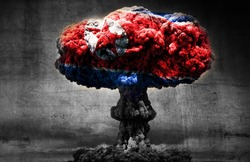 North Korea nuclear threat concept