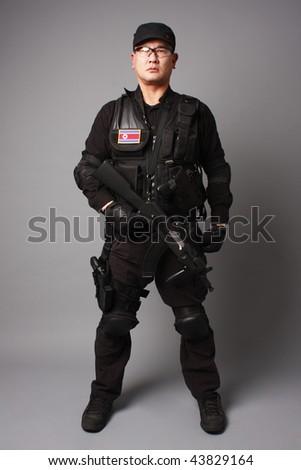 North Korean Commando