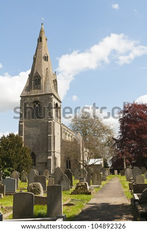 North Rauceby\'s parish church, St. Peter, is an ancient structure, restored in 1853, and build of local Ancaster stone. The spire is thought to be of late 12th or early 13th century origin