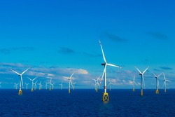 North Sea Offshore wind farm