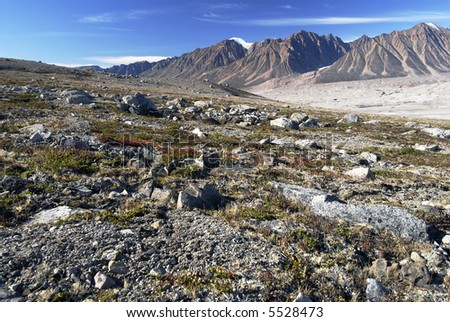 Northeast Greenland National Park Landscape